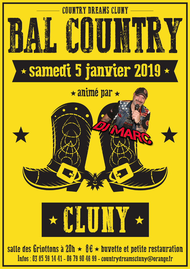 Affiche balcountry2018